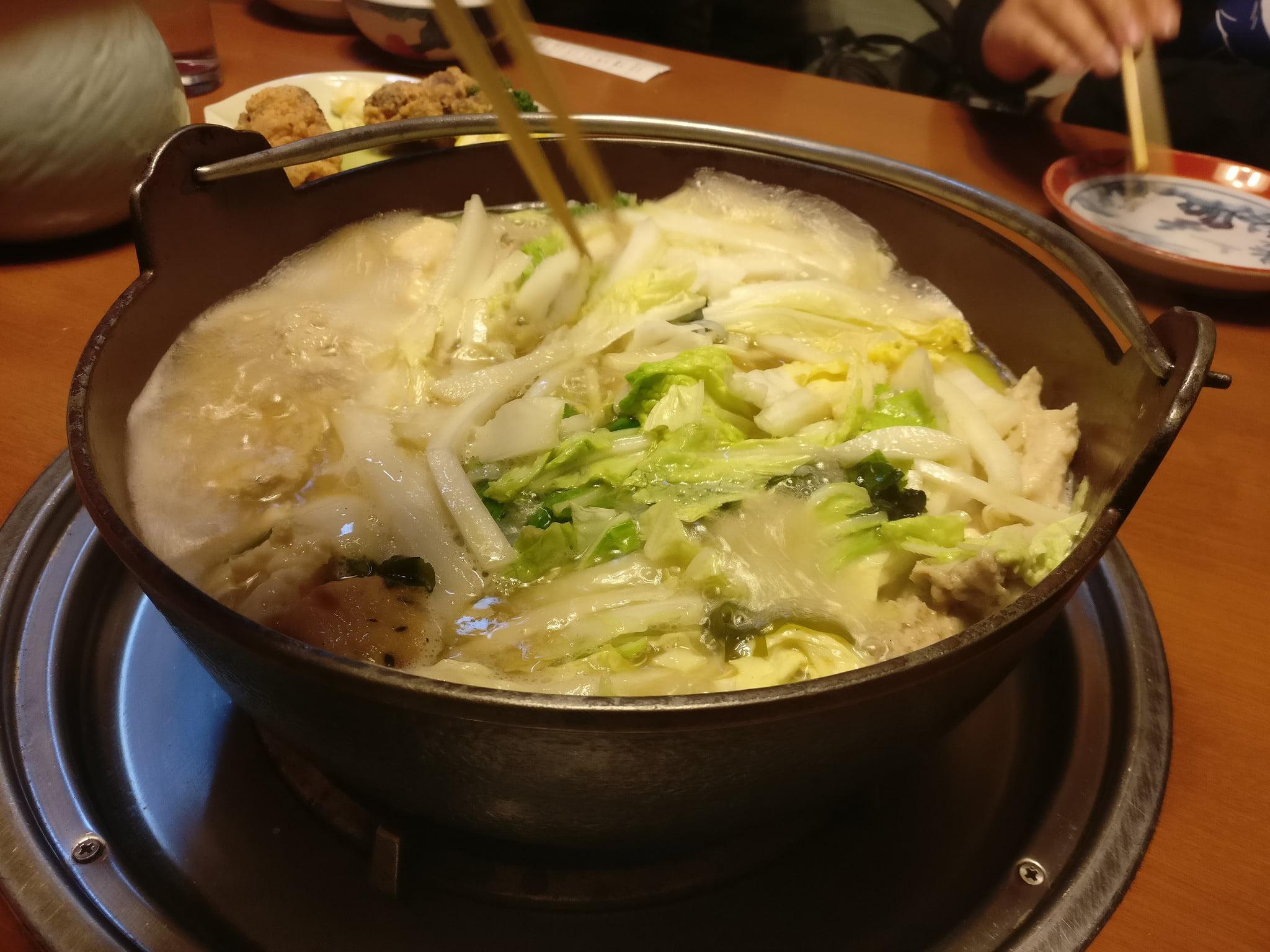B級美食:相撲火鍋(ちゃんこ鍋)不管你有幾個胃就是要撐爆